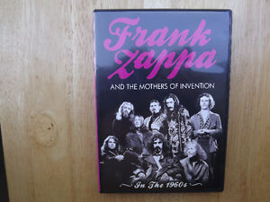 """FS: Frank Zappa And The Mothers Of Invention """"In The 60's"""" DVD London Ontario image 1"""