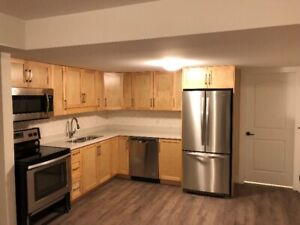 2 bedroom 800sf basement suite w/ 1 full bath + laundry room