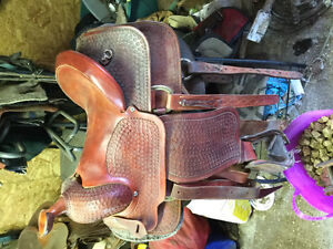 Custom made saddle
