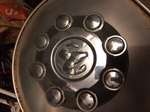 Dodge Ram HD 8 lug chrome Center cap or hub cap (one only)