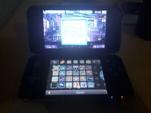 Modded New 2DS XL + 20 Games Of Your Choice + Accessories!