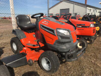 """USED HUSQVARNA 42"""" RIDE ON MOWER Moncton New Brunswick Preview"""