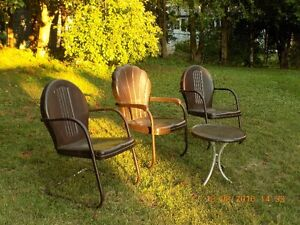 METAL CAMP CHAIRS