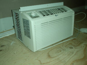 LG 5000 BTU window air conditioner