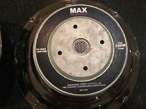 """Max Pentivent 10"""" Subwoofer PV-1030/4 (QTY-2 available) West Island Greater Montréal image 4"""