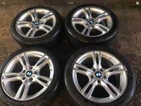 BMW 3-Series f30 m sport alloy wheels