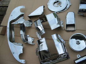 VW engine perf parts and  chrome