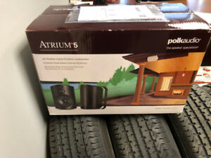 Polk Audio Atrium 5 Speakers - Set of 2  **NEW**