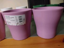 Flower pots (ceramic)