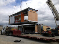 Modular Building Transportation - We BUY, SELL & RENT Buildings