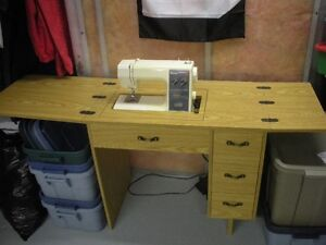 Kenmore 24 Stitch Sewing Machine & Cabinet