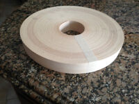 "Maple wood veneer edge non glued 1 1/2""x 500'"
