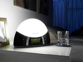 PURE Twilight Bedside DAB Digital and FM Clock Radio