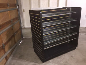 H-UNIT SLATWALL GONDOLA SHELF - BLACK - $300 OBO