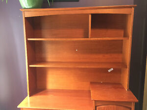 Dresser/change table with hutch
