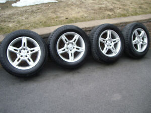 Mercedes winter mags and tires