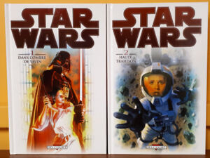 Star Wars Hardcovers Éditions Delcourt 2013 & 2014
