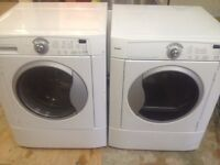 Laveuse Secheuse Frontale KENMORE Frontload Washer Dryer