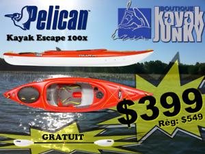 Kayak Escapes 100X **SUPER SPECIAL**