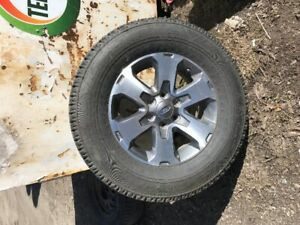 """4 Ford F150 18"""" OEM Wheels with LT275/65R18 All Terrain Tires"""