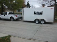 $45/Hr Moving, Min 2 hr charge,  204-803-5809