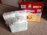 Huggies diapers size 1&2, some NB