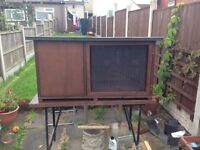 Rabbit hutch and other pet items