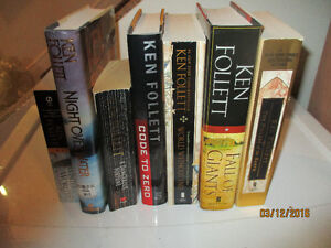 Ken Follet and Twilight books