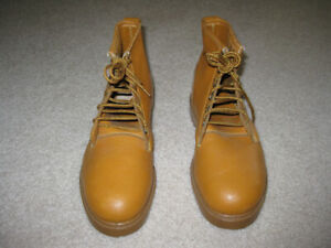 steel-toed safety boots