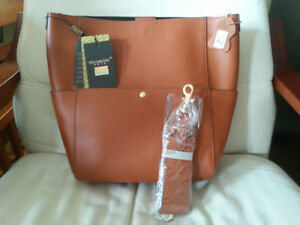 leather tote bag purse (brand new)