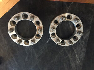 Chevy/GMC Wheel Spacers Rear Set