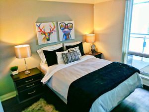 Exec furnished suite, TIFF BLD, 1 BED + DEN
