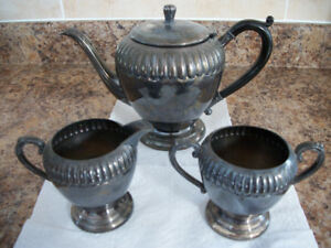 Silver Tea Pot Set