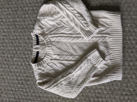 Mothercare creme woolly jumper
