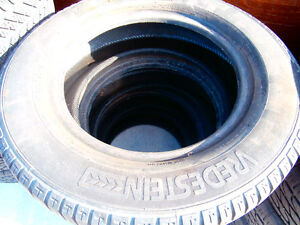 One set of summer tires size 175/70 /14 T-TRAC VREDESTEIN  good