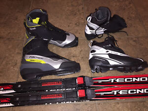 Cross Country Ski and boots