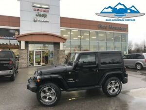 2017 Jeep Wrangler Sahara  LIKE NEW DEALER DEMO SAVE THOUSANDS