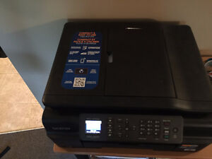 Wireless Brother MFC-J470DW Printer / Scanner / Fax