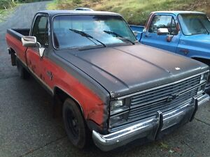 1986 chevy pickup  expo edition c-10