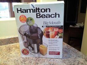 Hamilton Beach Big Mouth Juicer - 800 Watt