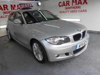 2011 BMW 118d M Sport 5dr + 1/2 LEATHER +
