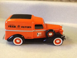 RARE DIE CAST FRAM FILTERS 1936 DODGE PANEL DELIVERY TRUCK London Ontario image 6