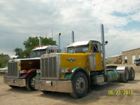 Day Cabs Peterbilt 379 models 2002 + 2004 Kenworth W-900 day cab
