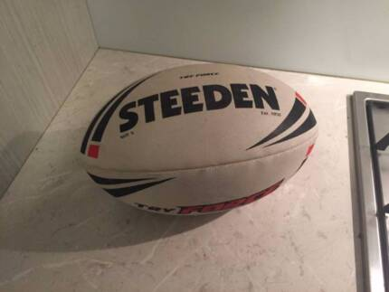 Rugby Ball and Cricket Set