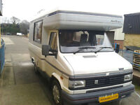 Auto Sleeper Executive, 1989, Diesel, 2500cc, Sleeps 2, End Kitchen, Bike Rack,