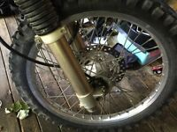 "21"" 36 spoke drz front wheel. Wanted"