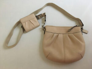 Authentic Coach Purse and Matching Mini-Wallet