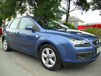 FORD FOCUS 1.8 TDCi DIESEL 2005 ZETEC COMPLETE WITH M.O.T HPI CLEAR INC WARRANTY