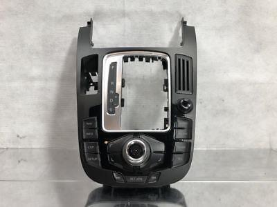 2012 Audi A4 Center Console MMI Control
