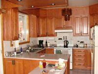 Ébéniste pour vos armoires de cuisine, vanité salle de bain etc.